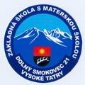logo Základná škola s materskou školou, Dolný Smokovec 21, Vysoké Tatry