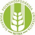 logo Slovenská poľnohospodárska univerzita v Nitre