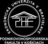 logo Podnikovohospodárska fakulta, Košice