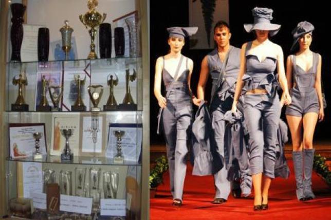 Ocenenia získané za módnu tvorbu mladých