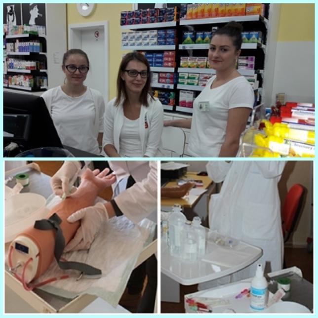 študijné odbory: praktická sestra, farmaceutický laborant