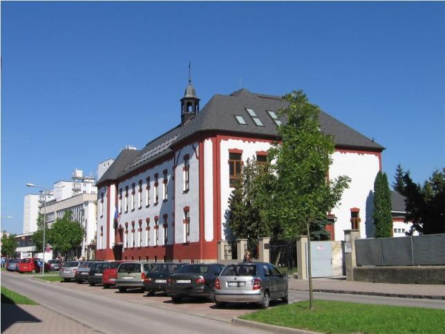Budova našej školy