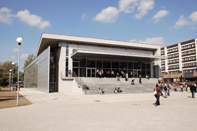 Aula Ekonomickej univerzity v Bratislave