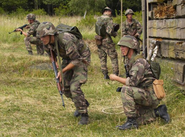 vojenský výcvik