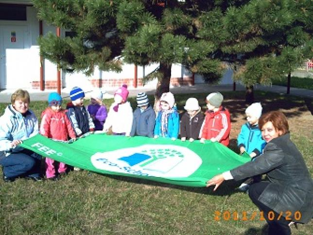 Vlajka Zelenej školy  EcoSchools